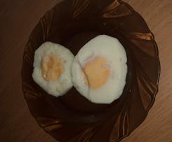 Jajka sadzone na varomie
