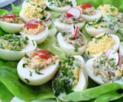 Jajka faszerowane na cztery sposoby