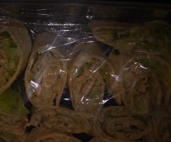 tortilla z pastą rybna