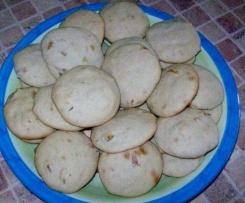 Ciasteczka z jablkowymi skòrkami