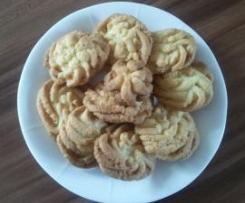 świąteczne ciasteczka maślano - pomarańczowe