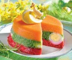 Wiosenny pasztet z warzyw